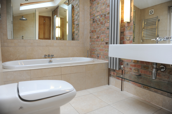 Bathrooms renovation and refurbishment urban design build Bathroom design company london