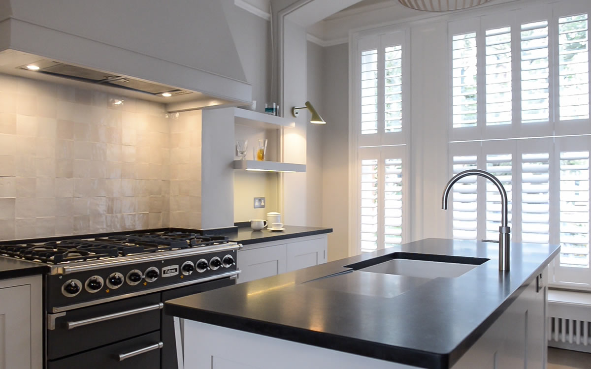 Builders in north london extensions bathrooms kitchens for Kitchen design london